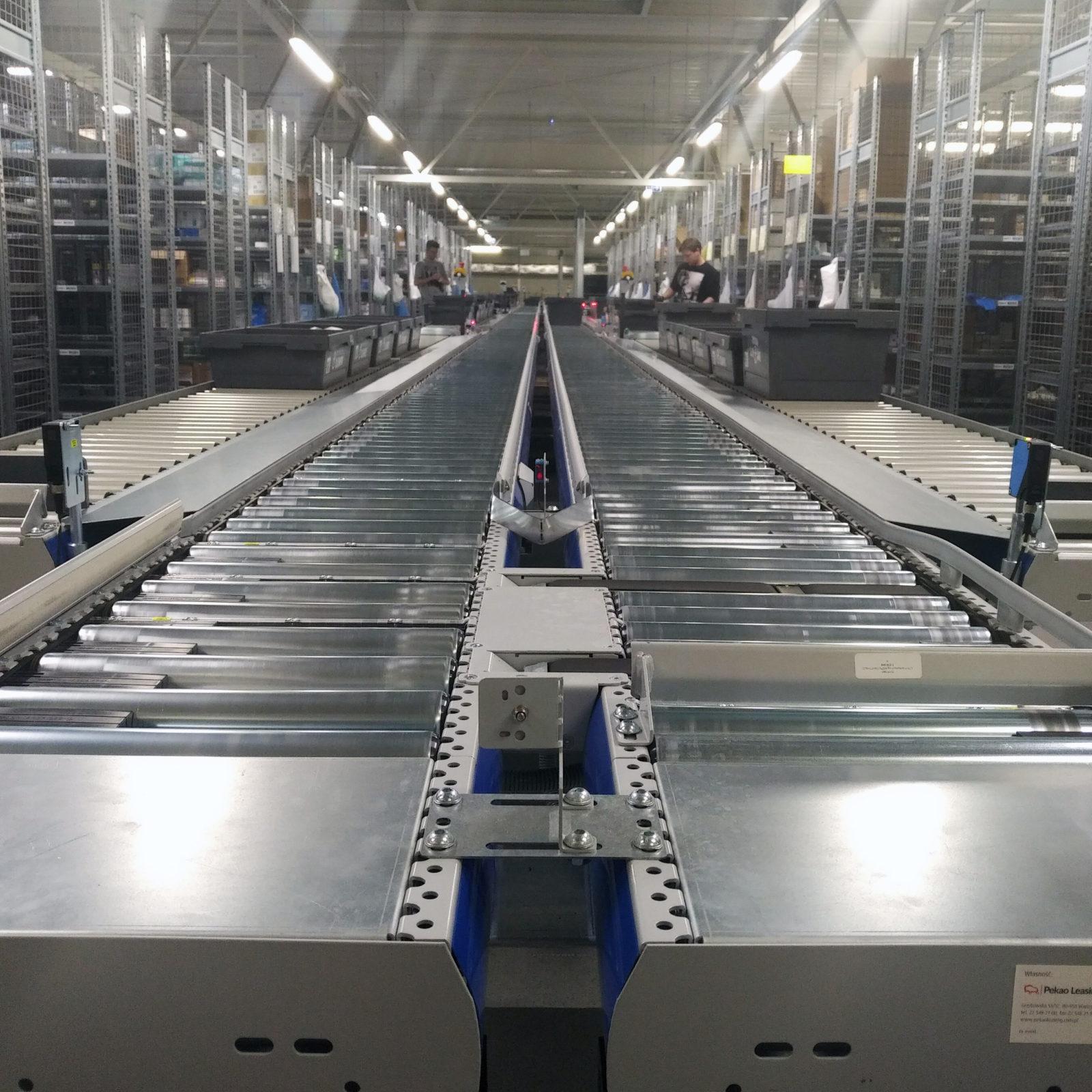 Automatyzacja centrum logistycznego obsługującego Oddział w Warszawie