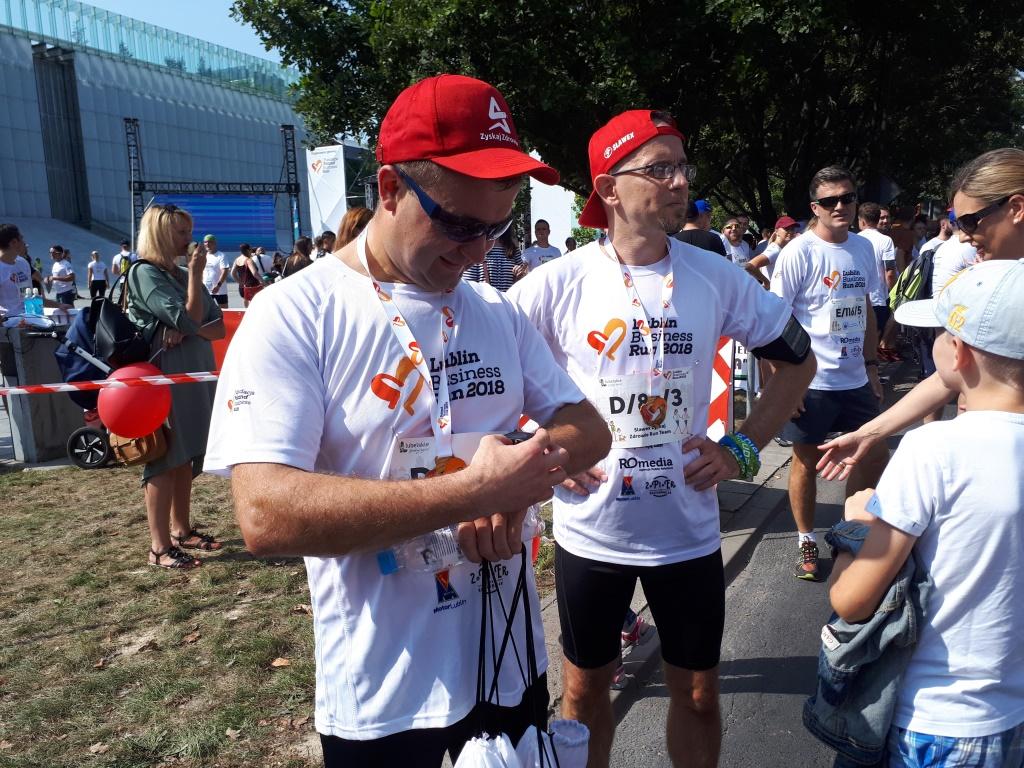 Drużyna Slawex na Lublin Business Run