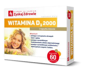 WITAMINA D<sub>3</sub> 2000