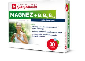 MAGNEZ + B<sub>1</sub>B<sub>6</sub>B<sub>12</sub>